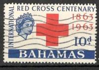 Bahamas. Centenario de la Cruz Roja internacional. 1953. Usados.